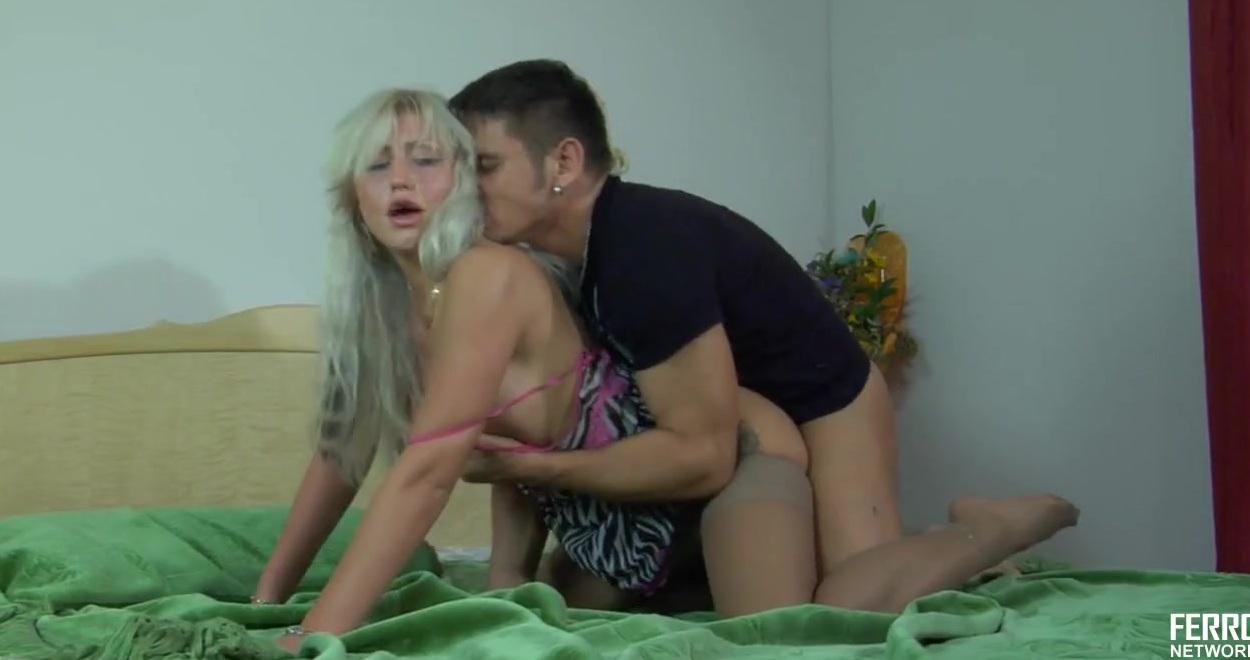 Секс С Худой Блондинкой Фото
